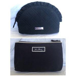 Bundle of Vera Bradley Makeup/Toiletry Bags